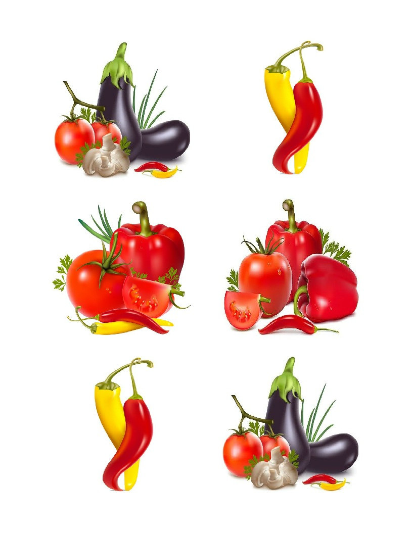 Cherry Tomato clipart pepper plant Digital This clipart 20 images