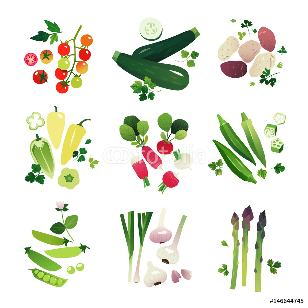 Cherry Tomato clipart potato plant Zucchini Radish Vegetable Pea