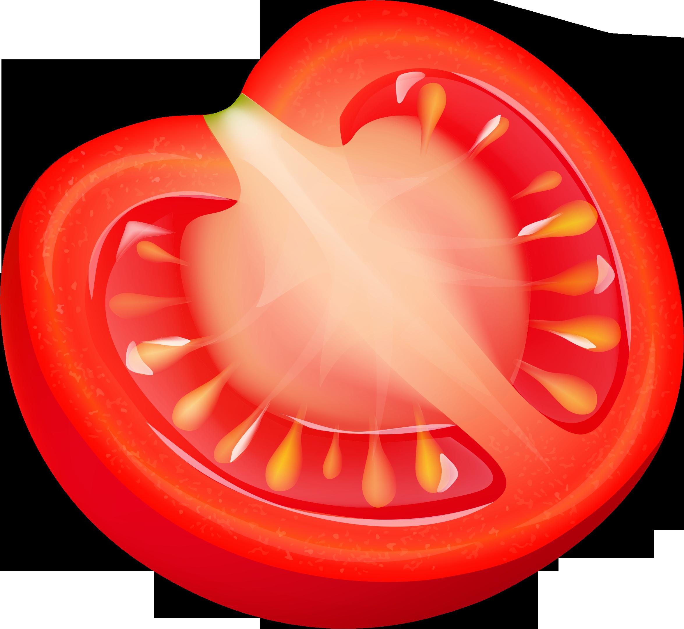 Pice clipart tomato Images — Tomato Slice Clipart
