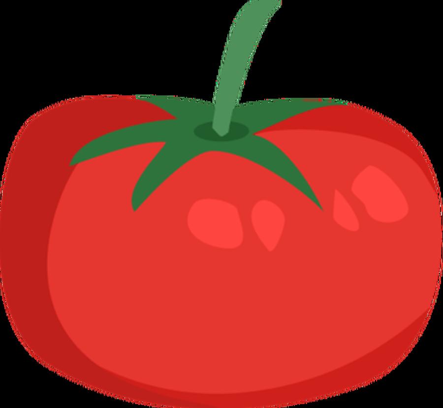 Drawn tomato clip art #15