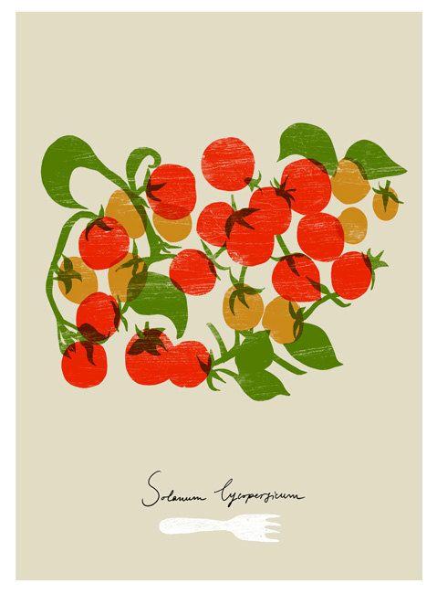 Cherry Tomato clipart veggie patch $85 // tomato images Pinterest