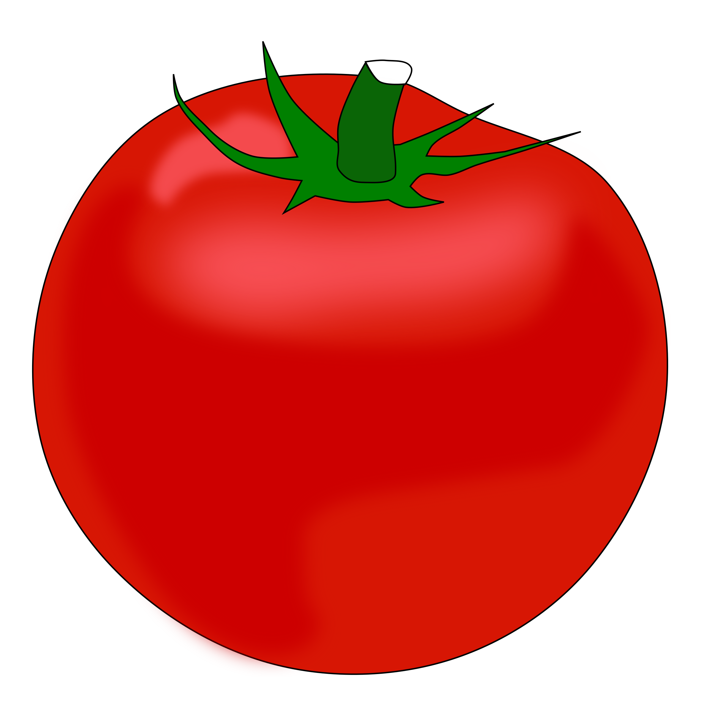 Red clipart tomato #10