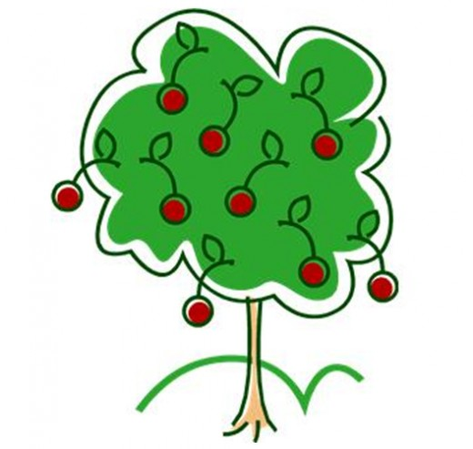Cherry Tree clipart Clipart Tree Tree Art Download