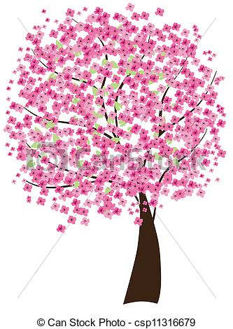 Cherry Tree clipart lanzone Tree drawings Download #16 Cherry