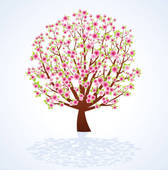 Cherry Tree clipart blossem Free Cherry Royalty · Clip