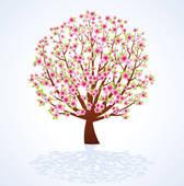 Cherry Tree clipart big apple Cherry Cherry Blossom Tree Cherry