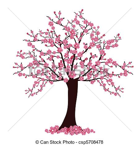Cherry Tree clipart Download Tree drawings Tree Cherry