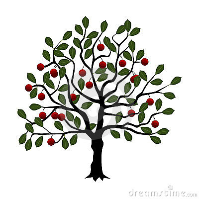Cherry Tree clipart Stylized Tree tree Clipart japanese
