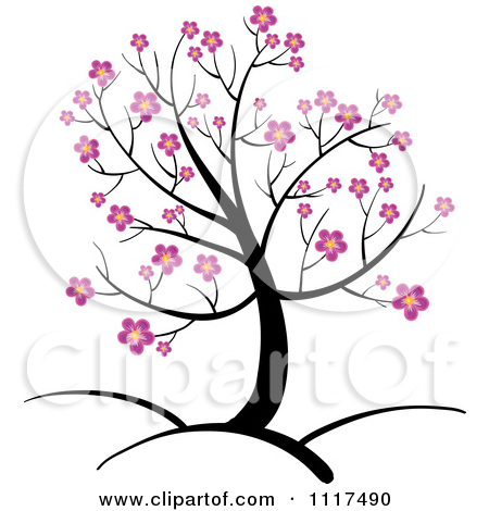 Cherry Tree clipart animated Pink Clip Clip Pink Blossoms