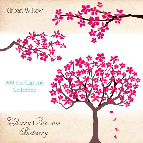 Cherry Tree clipart blossem Pinterest Clip Find Sanctuary this