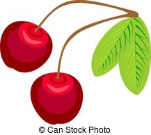 Cherry Tree clipart charry Stock Illustrations Clipart and with