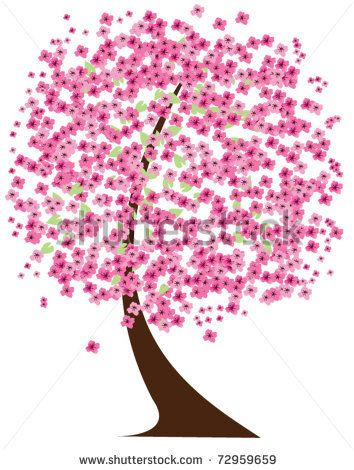 Cherry Tree clipart charry Trees and Pinterest  Cherries