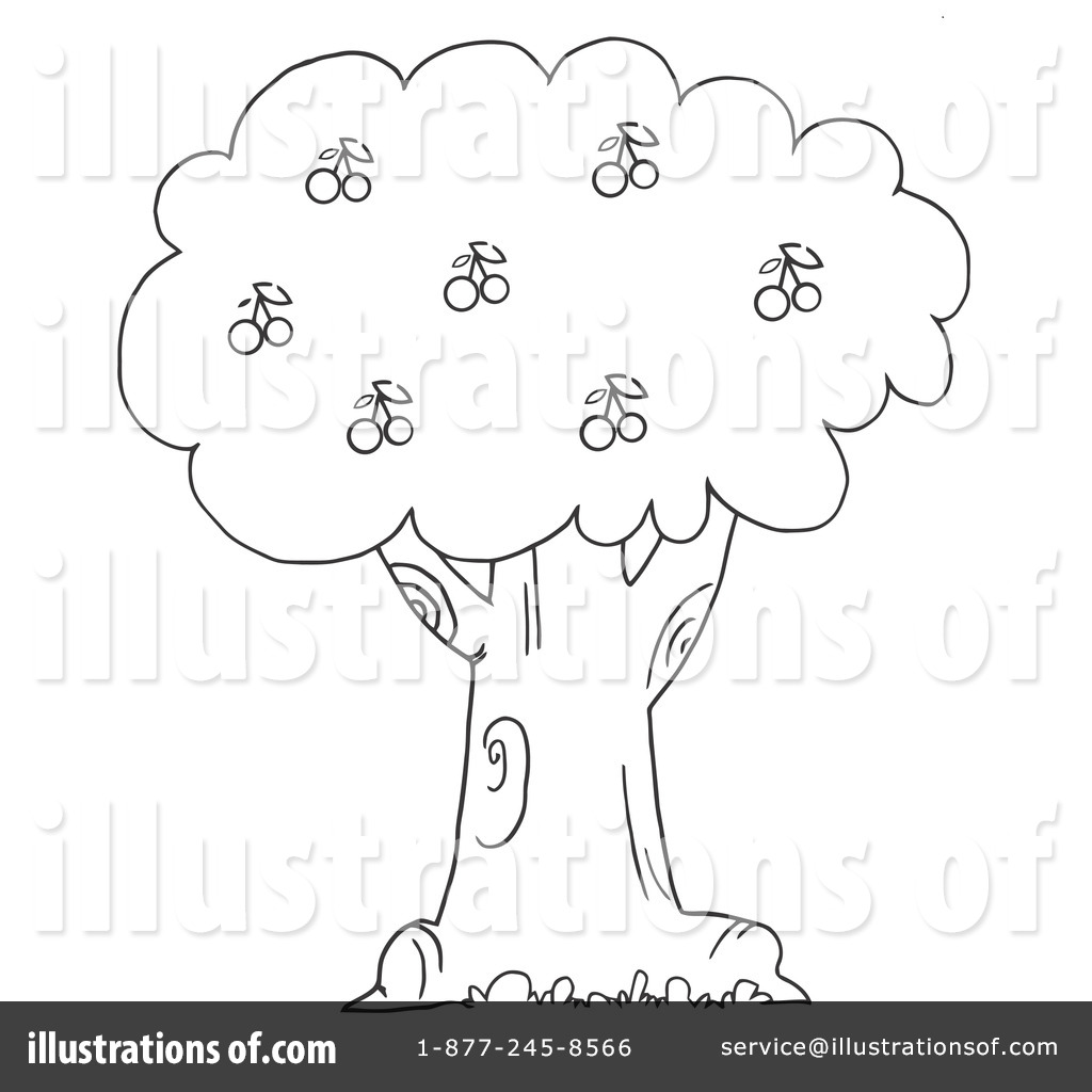 Cherry Tree clipart cheery Clipart Illustration by Cherry (RF)
