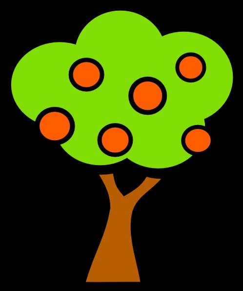 Cherry Tree clipart small Art vector · com PNG: