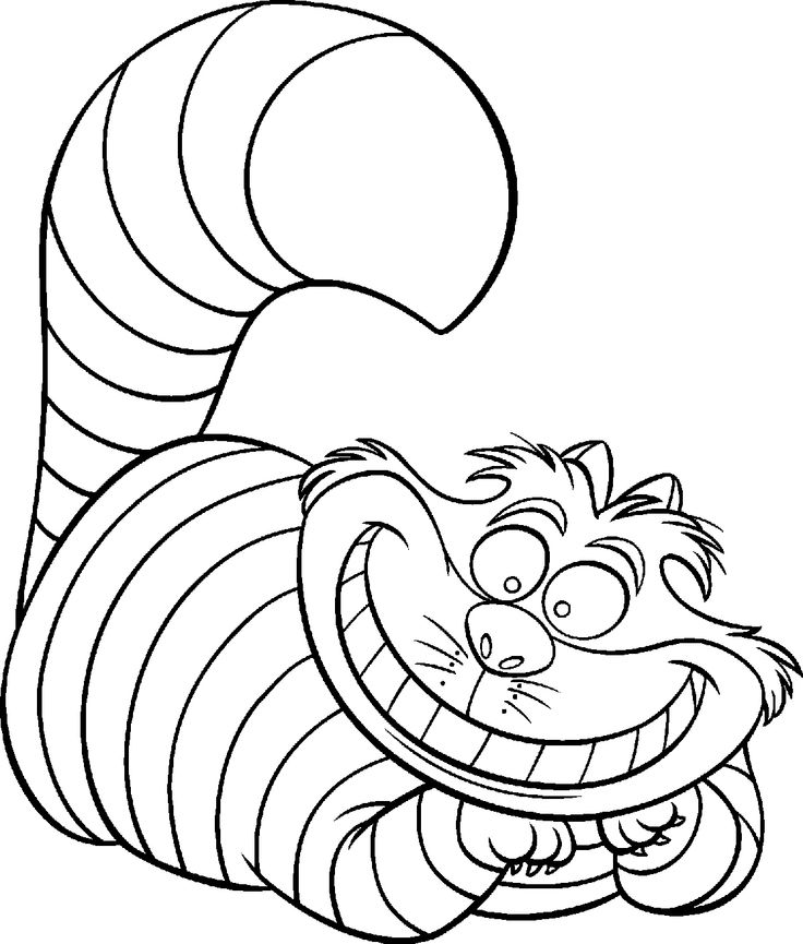Cheshire Cat clipart cute #8