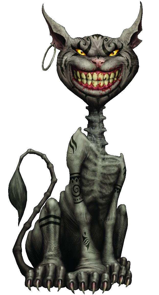 Cheshire Cat clipart gothic #15