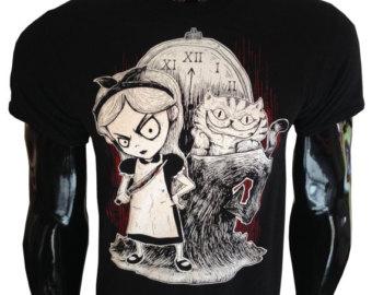 Cheshire Cat clipart gothic #1