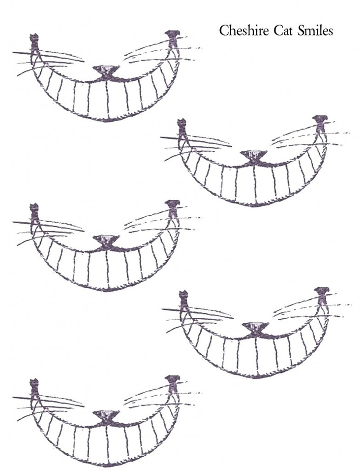 Drawn smile silly Ideas grin #alice_in_wonderland best on