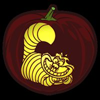 Cheshire Cat clipart pumpkin stencil Carving Cat carving Pinterest Cheshire