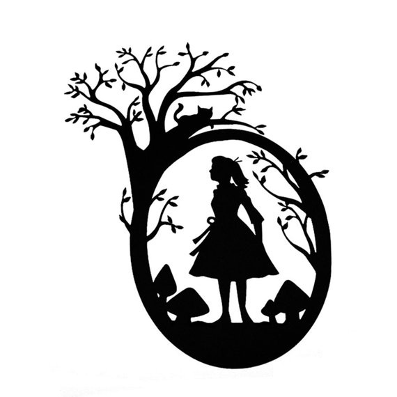 Cheshire Cat clipart pumpkin stencil #15