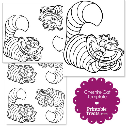 Cheshire Cat clipart pumpkin stencil From Printable from  Free
