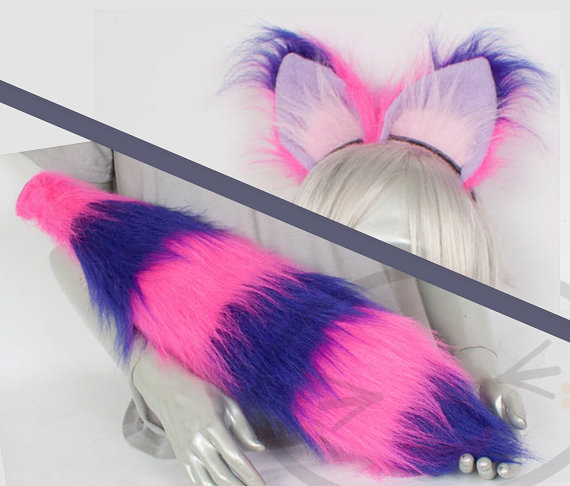 Cheshire Cat clipart tail Ear Cat Accessories Set