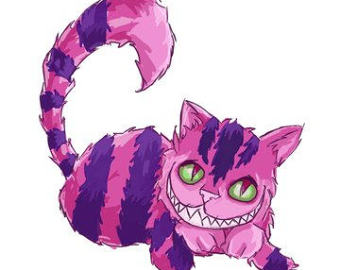 Cheshire Cat clipart tail Wagging different Moving 12 Up