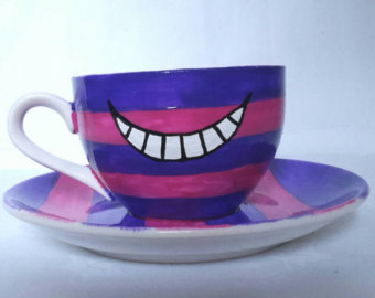 Cheshire Cat clipart teacup #10