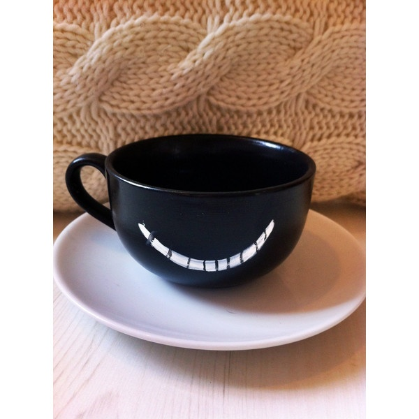 Cheshire Cat clipart teacup #4