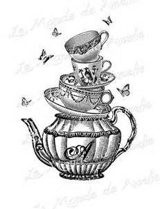 Cheshire Cat clipart teacup #9