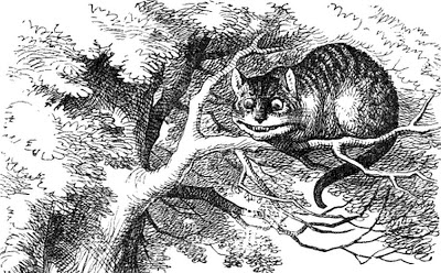Cheshire Cat clipart the tree Tree Cat Alice of little