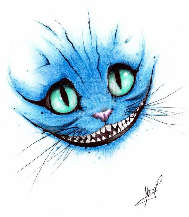 Cheshire Cat clipart the tree Cat wonderland in on 25+