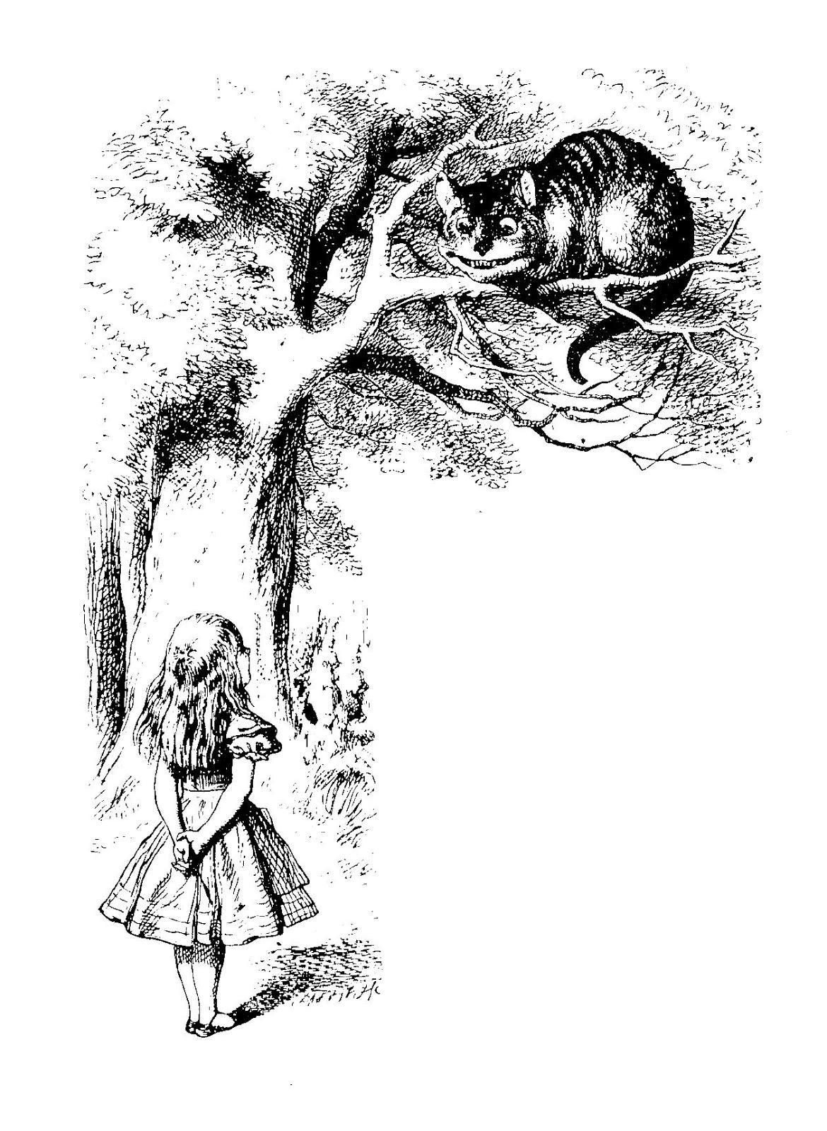 Cheshire Cat clipart the tree Design: Cat Digital Alice Design: