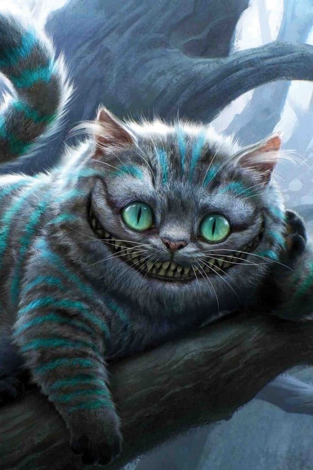Cheshire Cat clipart the tree Wierd wonderland in World