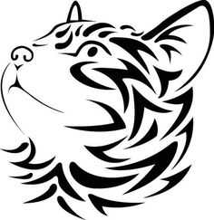 Cheshire Cat clipart tribal Decal Tribal cat Cat images