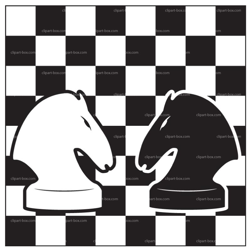 Chess clipart White clipart clipart and Knight