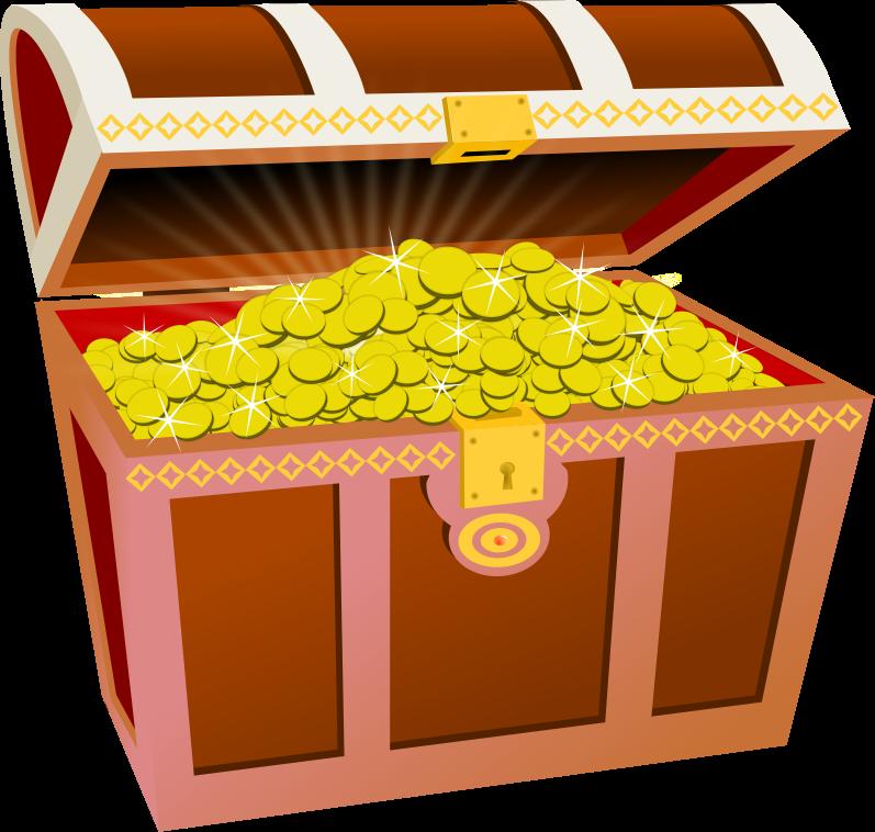 Chest clipart Treasure com Treasure art Cliparting