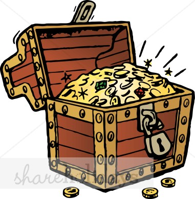 Chest clipart buried treasure Clipart Buried Treasure