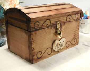 Chest clipart time capsule Rustic Card Decor Box Box