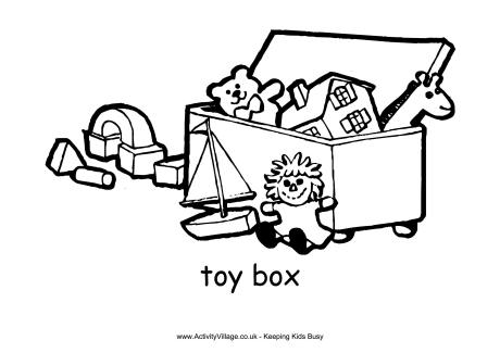 Toy clipart outline #3