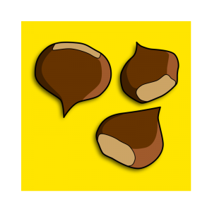 Chestunt clipart nuts Chestnut Chestnuts Clip Download Art