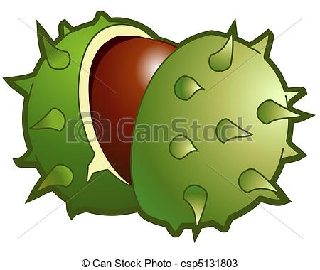 Chestnut clipart cute Chestnut csp5131803 Search csp5131803 illustrated