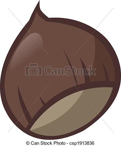 Chestnut clipart Of on Vector Clip Chestnut