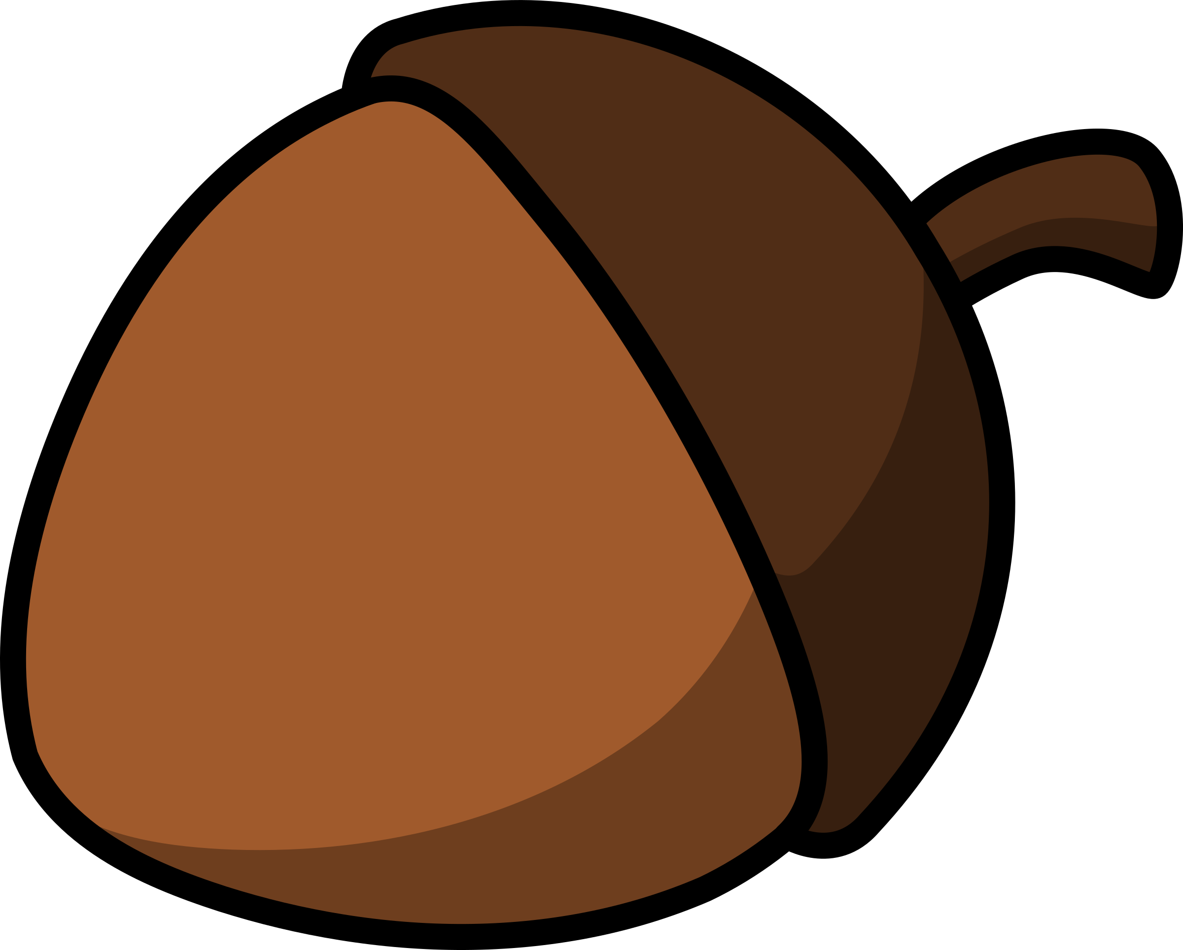 Chestunt clipart cartoon Cartoon Cartoon Clipart acorn acorn