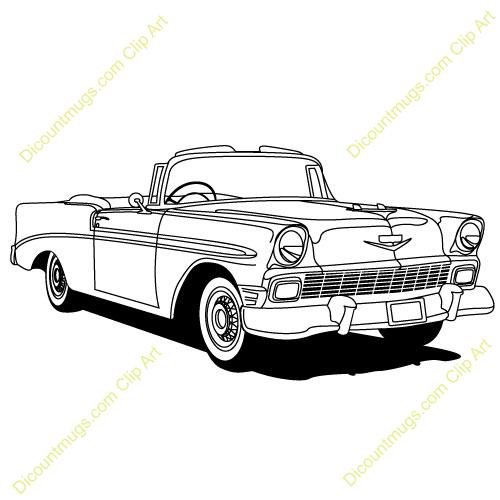 Chevrolet clipart Art Chevy Clip Car 57