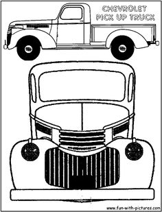 Chevrolet clipart antique truck Truck truck vintage pickup book