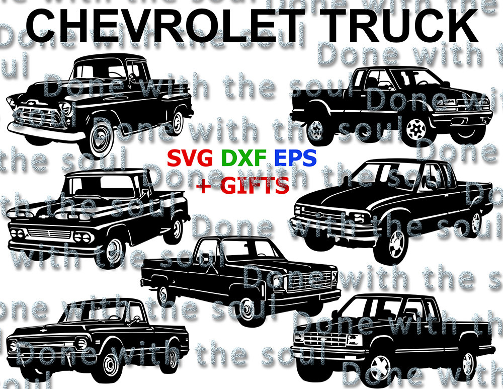 Chevrolet clipart antique truck Car Chevy Chevy Chevy Etsy