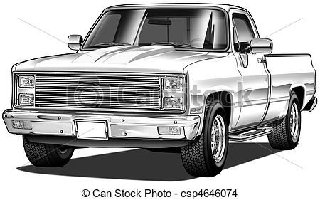 Chevrolet clipart chevy truck Illustrations clipart 57 clipart