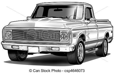Chevrolet clipart custom Illustration of and  72
