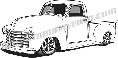 Chevrolet clipart custom Clipart 50 clipart pickup images